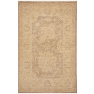Herat Oriental Afghan Hand-knotted Vegetable Dye Oushak Wool Rug (2' x 3')