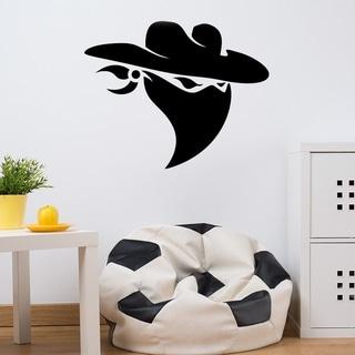 Cowboy Bandit Wall Decal