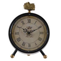 Lavonia Large 6.5-inch x 2.5-inch x 8-inch Table Clock