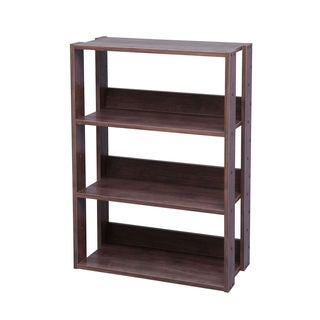 IRIS Mado 3-shelf Light Brown Shelving Storage Unit