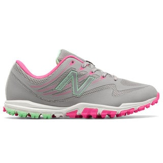New Balance Minimus 1006 Spikeless Golf Shoes Women Gray/Pink