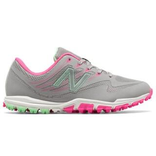 New Balance Minimus 1006 Spikeless Golf Shoes Women Gray/Pink