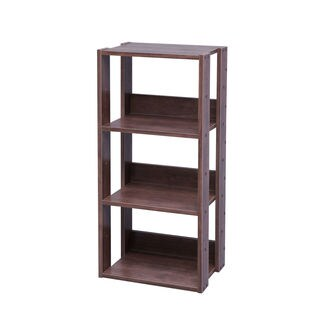 IRIS Mado 3-shelf Brown Wood Storage Shelving Unit