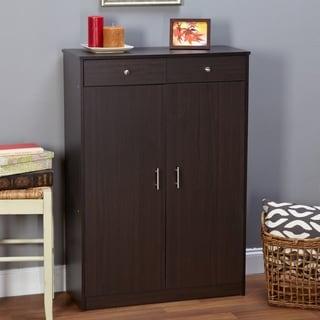 Simple Living Rence Shoe Cabinet (Option: Black)
