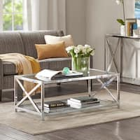 Madison Park Boston Coffee Table 2-Color Option