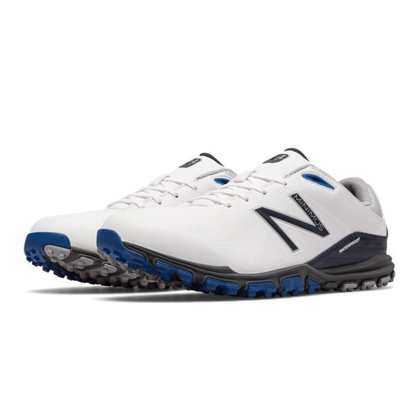 6b015ca9fbcaa Shop New Balance 1005 Spikeless Golf Shoes White/Blue - Free Shipping Today  - Overstock - 16838656