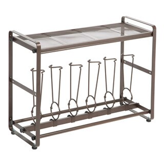 Richards Homewares Bronze Iron Short Tilt-out Boot Organizer