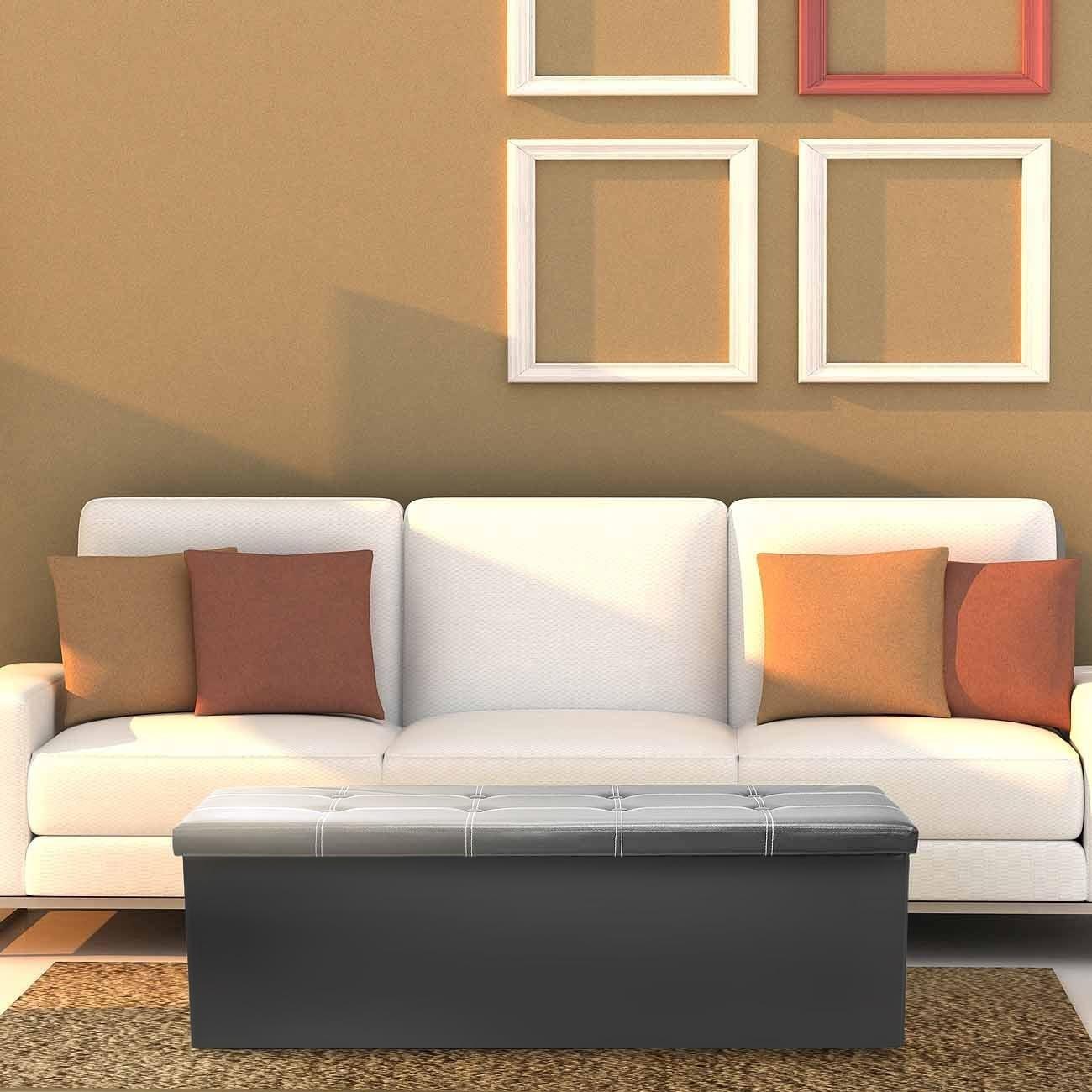 Ggi International Sorbus® Storage Bench Chest– Collapsibl...