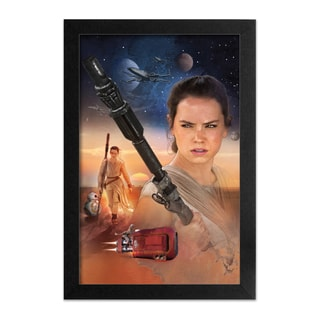 Star Wars - TFA - Rey Art