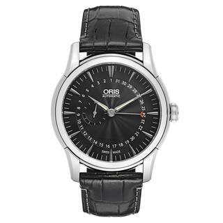 Oris Men's Artelier Leather Black Swiss Mechanical Automatic (Self-Winding) Watch|https://ak1.ostkcdn.com/images/products/16838724/P23138942.jpg?impolicy=medium