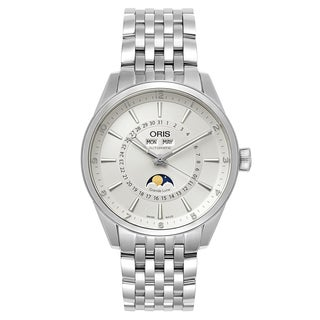 Oris Men's Artix Stainless Steel Silver Swiss Mechanical Automatic (Self-Winding) Watch