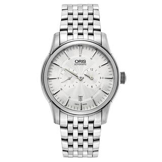 Oris Men's Artelier Stainless Steel Silver Swiss Mechanical Automatic (Self-Winding) Watch|https://ak1.ostkcdn.com/images/products/16838759/P23139026.jpg?impolicy=medium