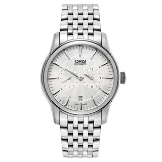 Oris Men's Artelier Stainless Steel Silver Swiss Mechanical Automatic (Self-Winding) Watch