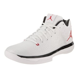 Nike Jordan Men's Air Jordan XXXI White Textile Low Basketball Shoe