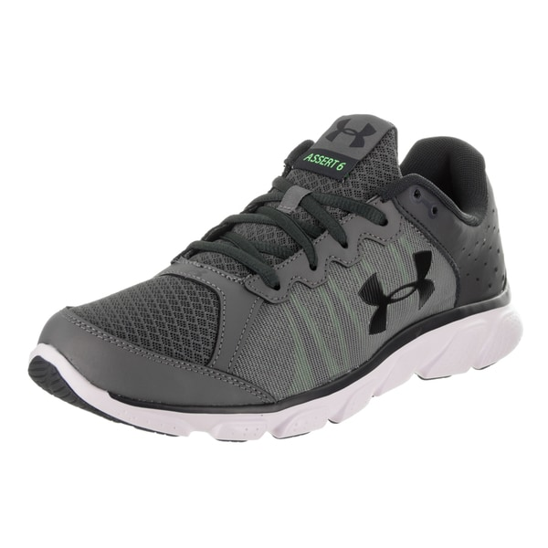 Shop Under Armour Men s Micro G Assert 6 Grey Running Shoes - Free ... c69fa3448df8