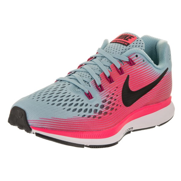 super popular bf886 15dcb Shop Nike Women's Air Zoom Pegasus 34 Wide Running Shoes ...