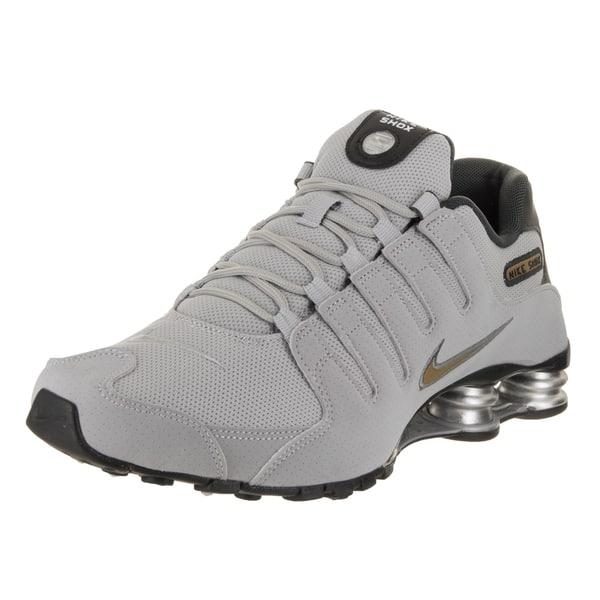 super cute new design good quality Shop Nike Men's Shox NZ Grey Running Shoes - Free Shipping ...