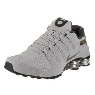 Nike Men's Shox NZ Grey Running Shoes