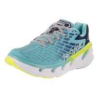 Hoka One One Women's Vanquish 3 Blue Synthetic Leather Running Shoes