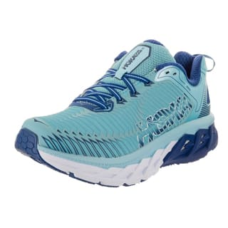 Hoka One One Women's Arahi Blue Synthetic-leather Running Shoes|https://ak1.ostkcdn.com/images/products/16839241/P23139461.jpg?impolicy=medium