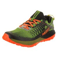 Hoka One One Men's Speed Instinct 2 Jasmine Green/Black Synthetic Leather Training Shoe