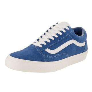 Vans Unisex Old Skool Retro Sport Blue Suede Skate Shoes