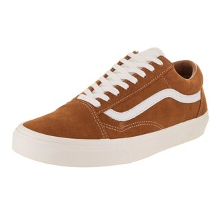 Vans Unisex Old Skool Retro Sport Glazed Ginger Suede Skate Shoe