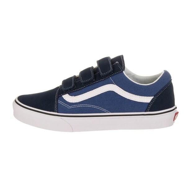 Shop Vans Unisex Old Skool V Blue Suede