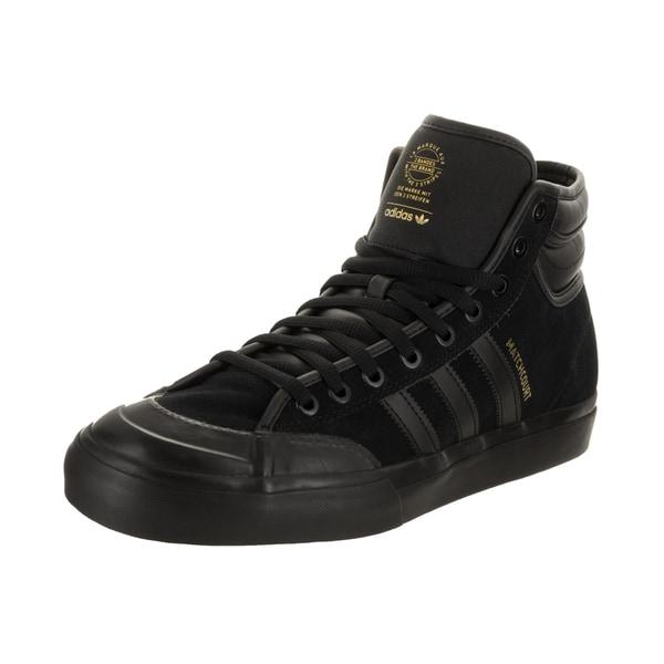 7c83e72fcc0e4c Shop Adidas Men s Matchcourt High RX2 Black Suede Skate Shoe - Free ...
