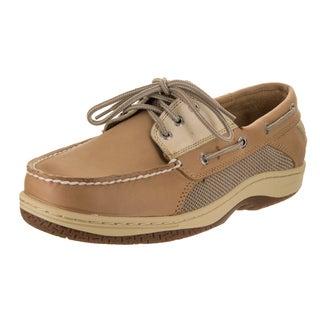 Sperry Men's Top-Sider Billfish Tan/Beige Leather X-wide Boat Shoe