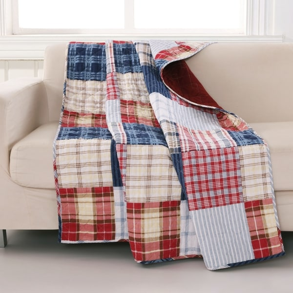 Hampton Quilted Throw