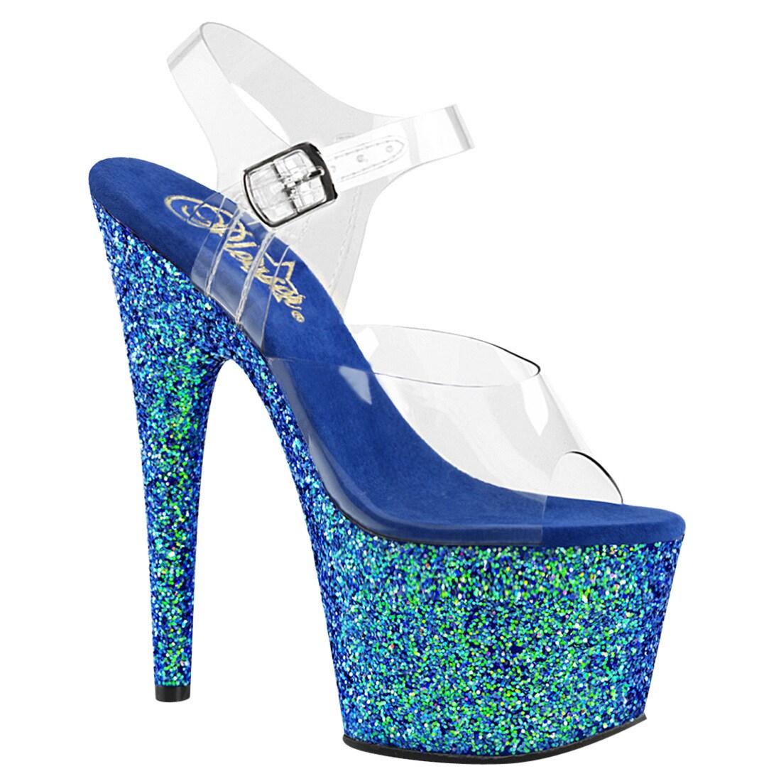 Pleaser Adore 709G Ankle-Strap Sandal (Women's) EewYu5
