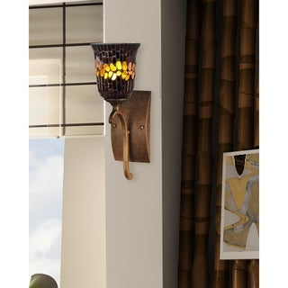 "Springdale 15""H Candora Mosaic Wall Sconce"