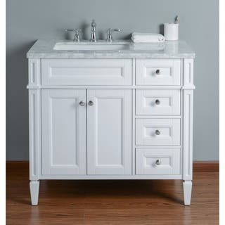 31 40 Inches Bathroom Vanities Amp Vanity Cabinets For Less