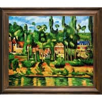 Paul Cezanne The Chateau at Medan Hand Painted Oil Reproduction