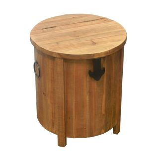 Extraordinary Wooden Stool with Storage