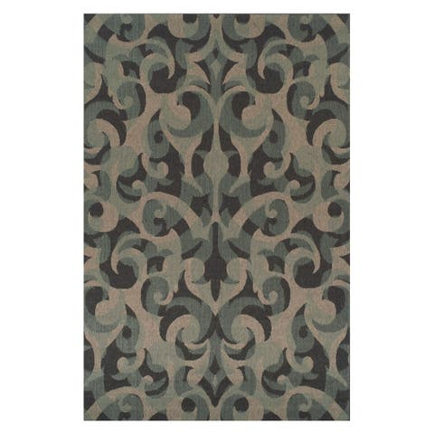 Superior Designer Aldaine Indoor/ Outdoor Area Rug - 5' x 8'