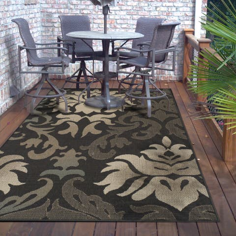 Superior Designer Lowell Indoor/Outdoor Area Rug collection - 8' x 10'