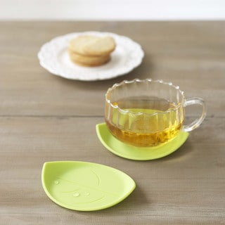 Yamazaki USA Leaf Silicone Drink Coaster - Set of 6