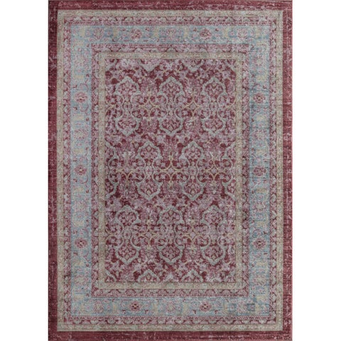 Woven Accents Westford Collection Cherry Red Rug - 5' x 8'