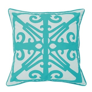 Laser Fork Indoor/Outdoor Decorative Pillow