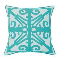 Laser Fork Indoor/Outdoor Decorative Pillow