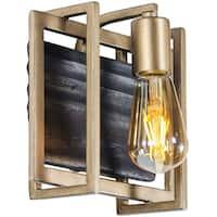 Varaluz Madeira 1-light Rustic Gold Bath/Vanity