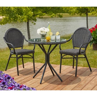 Simple Living 3-piece Eva Bistro Set - N/A