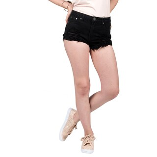 Xehar Women's Casual Distressed Destroyed Cut Off Denim Shorts
