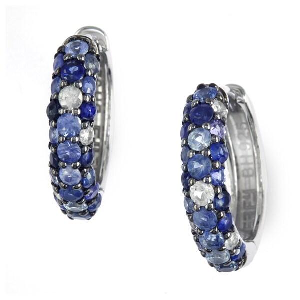 Effy 925 Sterling Silver Sapphire Earrings Free Shipping
