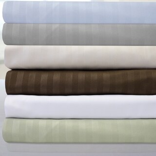 Sweet Home Collection Dobby Stripe 6-piece Bed Sheet Set (More options available)
