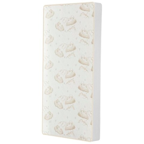 """Dream On Me 2-In-1 Breathable Twilight 5"""" Spring Coil Crib and Toddler Bed Mattress in Reversible Design"""