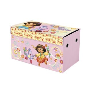 Nickelodeon Dora The Explorer Oversized Collapsible Toy Storage Trunk