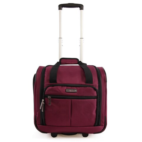 Pacific Coast Underseat 15.5-inch Rolling Carry-On Tote Bag